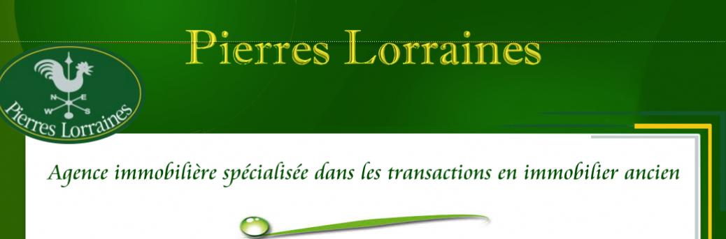Pierres Lorraines agence immobilière